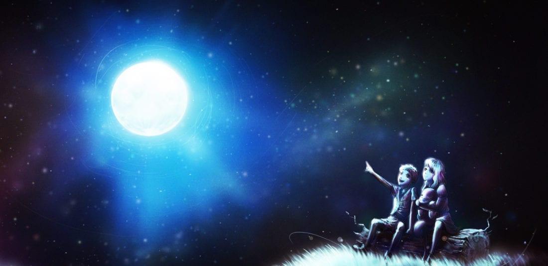 О луне
