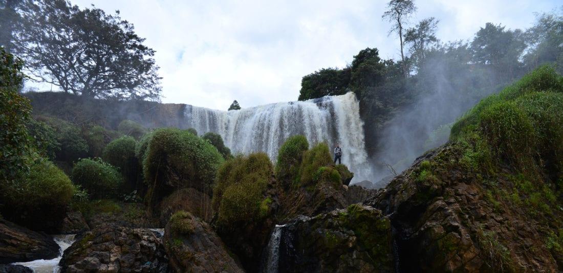 SURVIVAL ASIA TRIP: Водопад Слона: взгляд сбоку и снизу