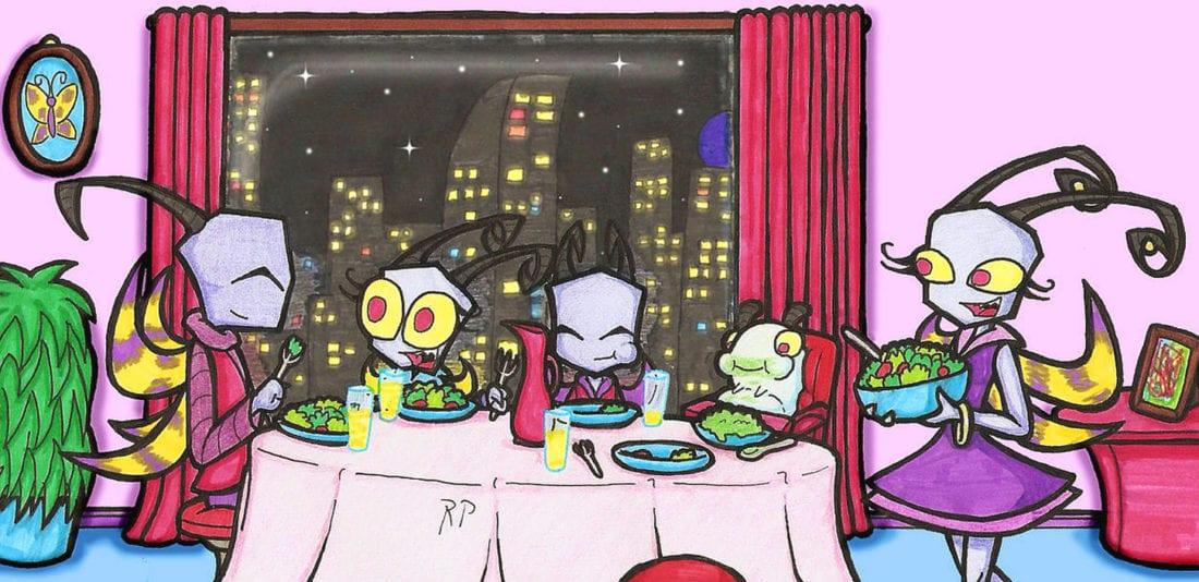 Деруны на ужин