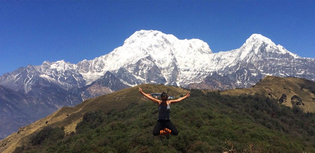 Марди Химал, день 1